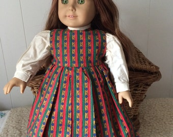 Doll's Clothes: Pinafore (Jumper) for 18 inch or American Girl doll