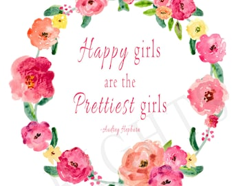 Happy girls are the Prettiest girls