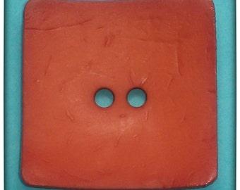 Square Nesting Button (Blood Orange)