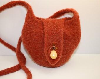 """Knit Felted Purse """"Dayla"""""""