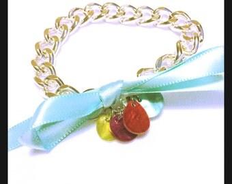 Charming Silver Chain Bracelet