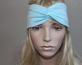 Turban Headband, Stretch Twist Headband Turban, Twist Headband, Headband, Yoga Headband,