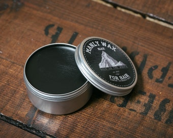 """MANLY WAX for hair """"black"""" 100 ml"""
