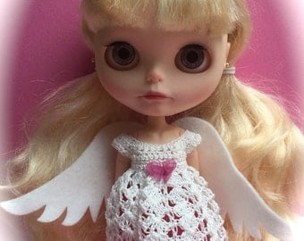 Angel Dress for Blythe