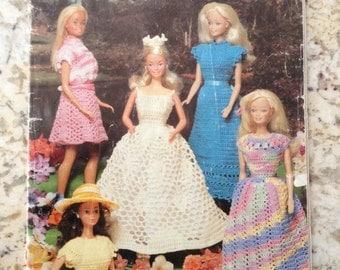 Crochet-Dolls- Girls-Fashion Doll CASUALS Crochet Book
