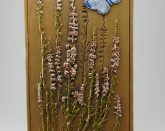Ceramic Wall Plaque Swedish decor ceramic wall hanging designed by Aimo Nietsvouri for Jie Gantofta