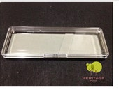 Grey Felt Pen Gift Box Clear Lid