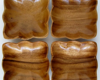 Monkeypod Individual Bowls, Set of 4