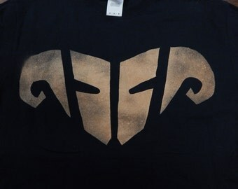 Braum Ram Emblem Bleached T-Shirt
