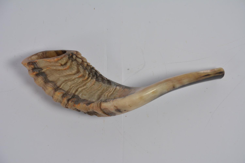 Rams Horn Shofar Kosher Polished Made In Israel Best Sound