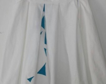 White Kites Skirt