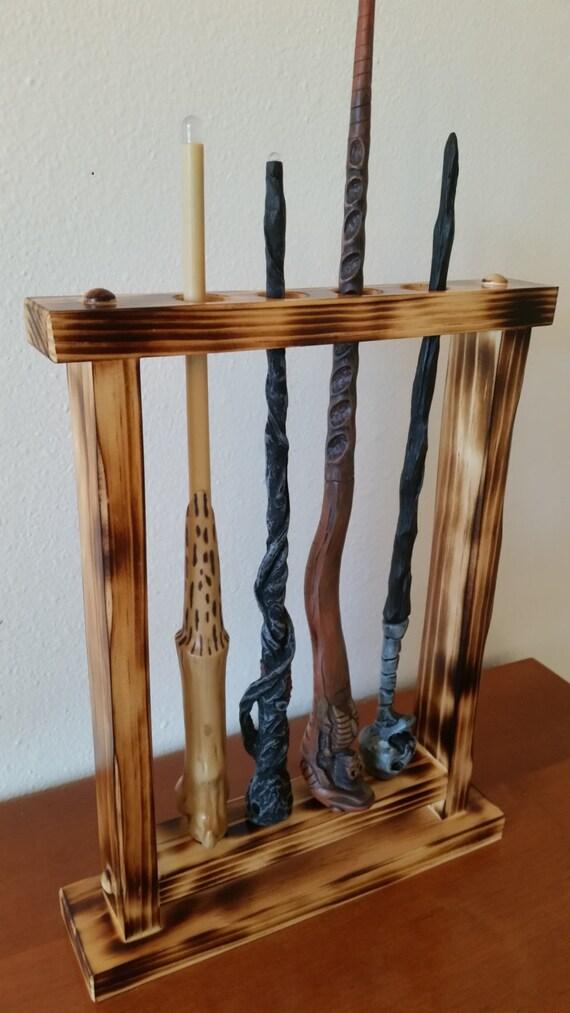 wand holder wand display magic wand display holder custom. Black Bedroom Furniture Sets. Home Design Ideas