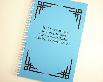 Spiral Bound Journal - Daily Goals