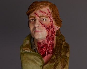 Jack - An American Werewolf in London Painted Bust