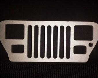 Jeep YJ Keychain