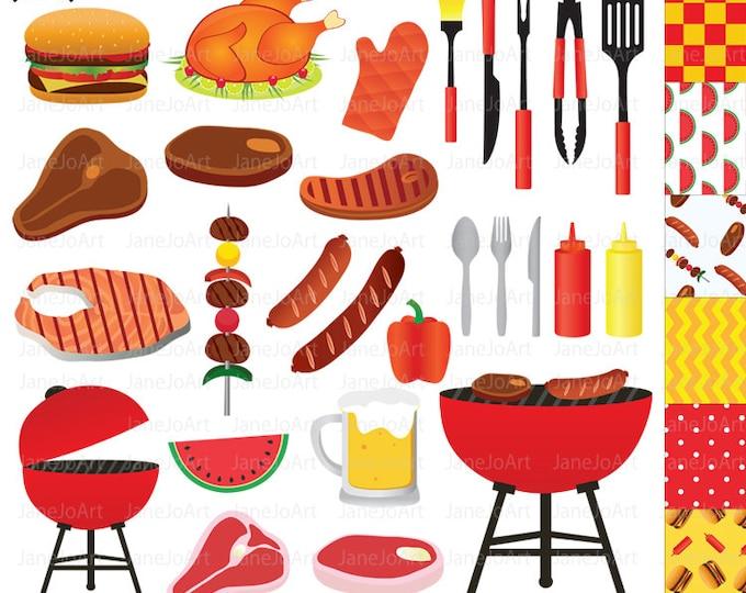 Bbq food clip art