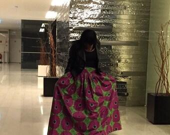 Afrocentric Maxi skirt