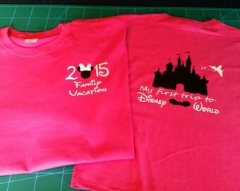 Disney Family Vacation T-shirts