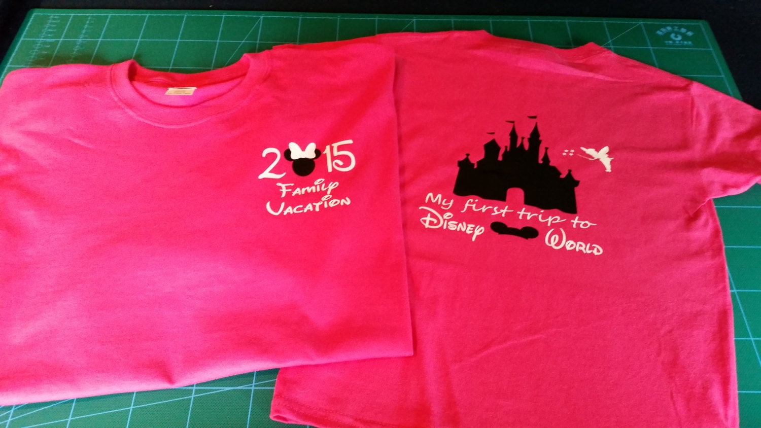 Disney family vacation t shirts for Custom t shirts family vacation