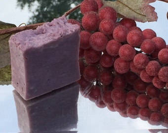 All Natual: Grape-O-Licious Soap