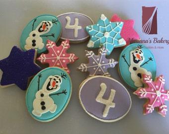Frozen birthday cookies (1 dozen)
