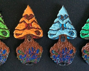 Peace Tree Pin Set Inspired by Twiddles message