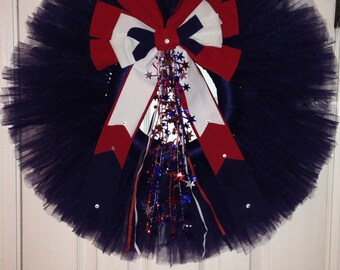 Happy 4th wreath