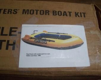 Vintage Planters Motor Boat Kit 1986
