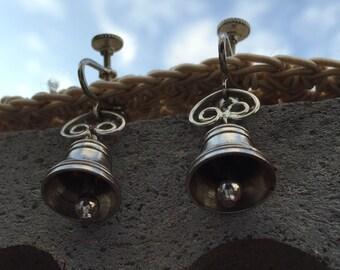 Little Silver Bells Earrings