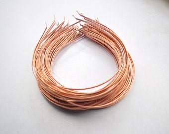 copper plated headband,copper plated hair hoop,  20pcs