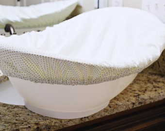 Items similar to baby gift idea cozy baby bathtub liner for Bathtub covers liners