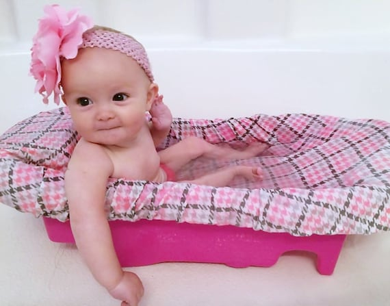 baby girl gift soothing baby bath tub cushion modern baby bath tub cover. Black Bedroom Furniture Sets. Home Design Ideas