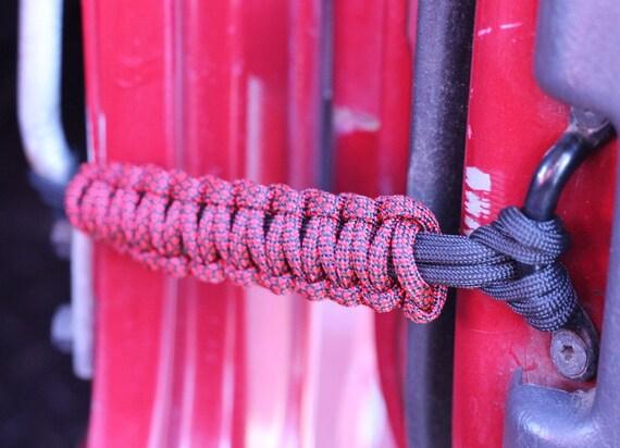 Paracord Jeep Wrangler Door Limiter Straps Set Of 2 Door