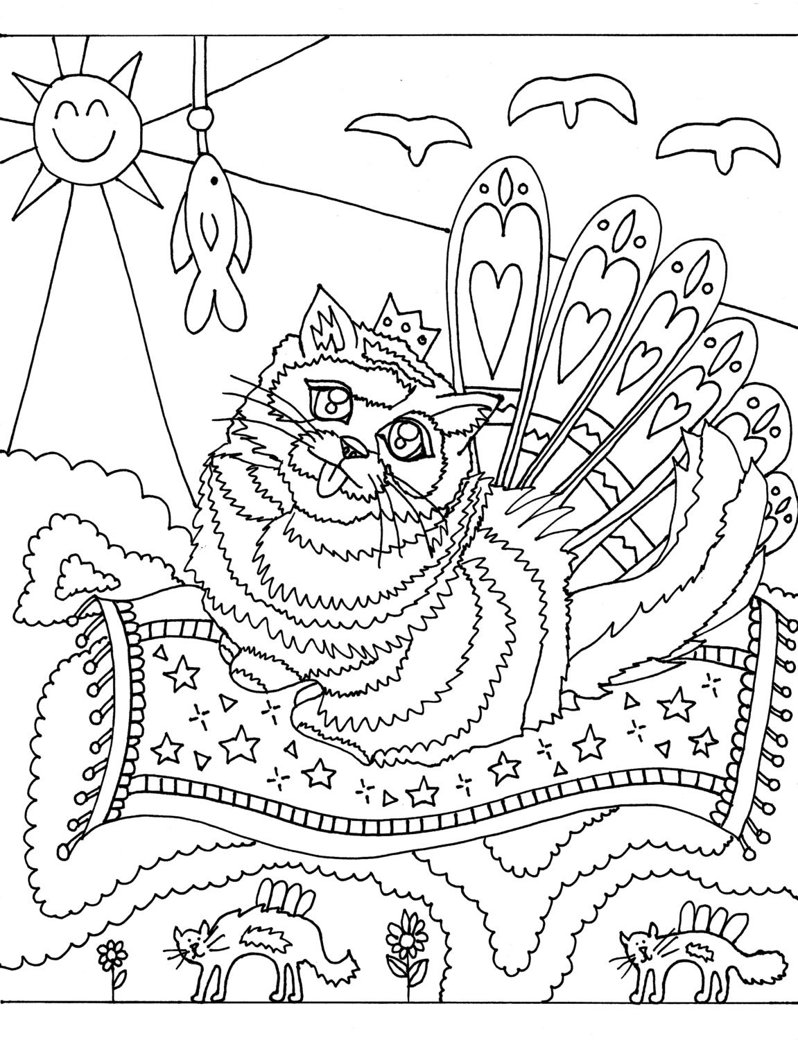 Book Coloring Downloadable Page