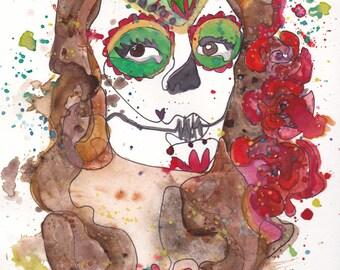 Dia de los Muertos/ Sugar Skull PRINT