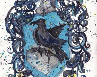 Ravenclaw Crest PRINT