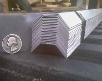 Aluminum Fabricated Led Shade .050 x .75 x .75 x .75 x 48 in. Cord Cover UAAC (3pcs) | (.050 x 3/4 x 3/4 x 3/4 x 48 in.)