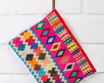 HIPPIE PURSE - Ethnic clutch bag , tribal cosmetic bag, indie makeup bag, ethnic purse, tribal clutch bag,indie cosmetic bag,boho makeup bag