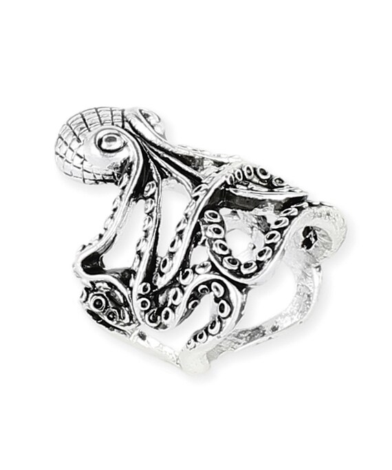 Octopus Ring Medium Size 7 - 8