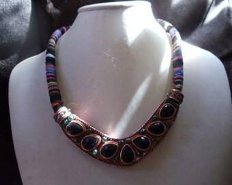 Statement necklace Ibiza ethnic hippie
