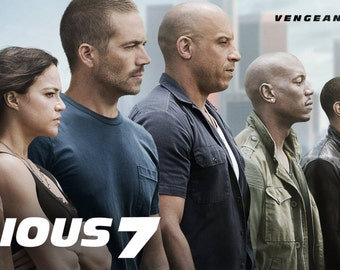 The Fast & Furious 7 Movie Art Silk Poster 24x36 inch Picture For Wall Decor 16