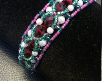Beaded Bracelet, Little Mermaid Inspired/DisneyBound
