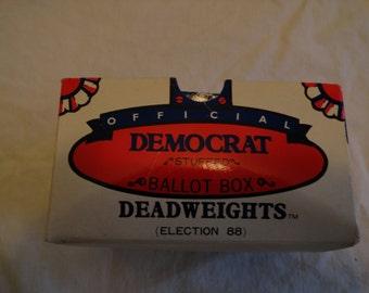 Official Democrat Ballot Box Deadweights In Original Box