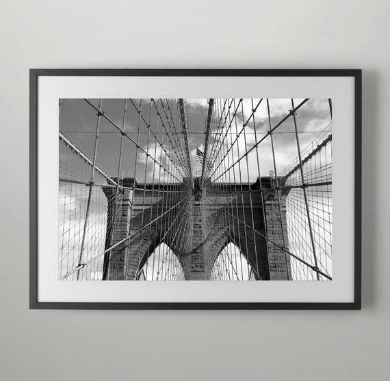 Brooklyn Bridge New York City USA Home Decor Wall Decor