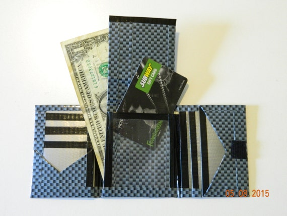 Duck Brand Duct Tape Wallet Trifold Bifold Carbon By