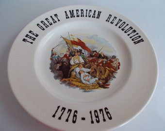 The Great American Revolution Collectors Plate