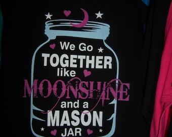 Moonshine and a Mason Jar Tank Top