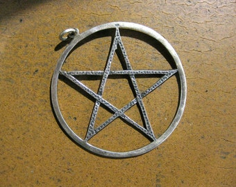Silver Witches Pendant