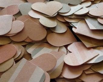 Pretty heart confetti