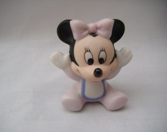 Baby Minnie Mouse Porcelain Figurine